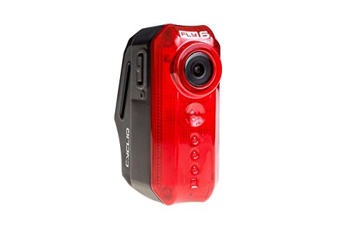cycliq Unisex fly6[V] HD cámara para bicicleta y luz trasera, rojo, un tamaño