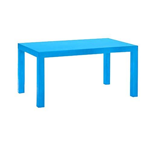 CJC Tables Table Basse Rectangulaire Multifonction Minimaliste Légère 3 Couleurs (Couleur : Bleu)