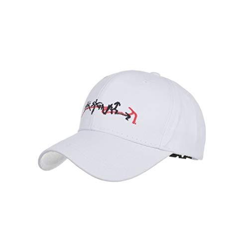 BKILF Baseballmütze 2019 Hüte für Damen Herren Caps Womens Mans Cotton Hochwertige bestickte Unisex Baseball Caps Einstellbar, Weiß Outdoor Research-stretch-cap