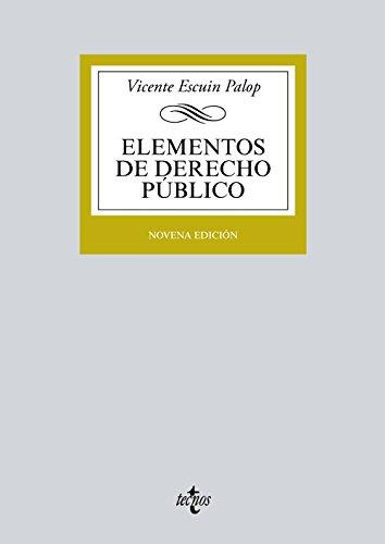 Elementos de derecho público por Vicente Escuin Palop