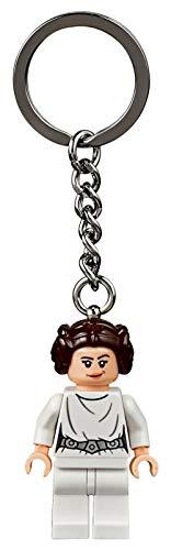 Star Wars 853948 Schlüsselanhänger Lego, Prinzessin Leia (2019 Version)