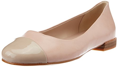 Clarks Festival Gold, Ballerine chiuse donna, Rosa (Pink (Dusty Pink)), 39.5