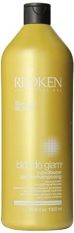 Redken Blonde Glam Conditioner, 33.8 ounces Bottle by Redken