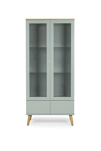 Tenzo-1670-676-Dot-Designer-Vitrine-Holz-pastellgrn-eiche-43-x-79-x-1785-cm