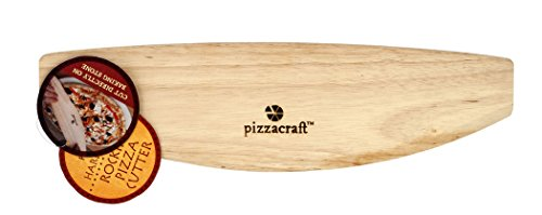 Pizzacraft Rocking Wood Pizza Cutter