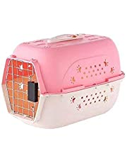 Pets Empire Portable Pet Carrier Travel Kennel Cage Crate Carrier Box for Cat and Puppy Color May Vary