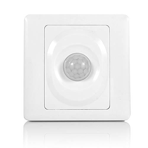 Garosa Sensor De Movimiento Interruptor Ajustable Infrarrojo Montaje En Pared Interruptores Sensor...