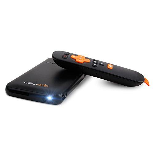 APEMAN Beamer DLP mini Pico Projektor WIFI Heimkino eingebaute Batterie, mit Audio, HDMI, USB, SD / TF Karte 20000 Stunden LED Lebensdauer