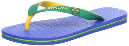 Ipanema Brazil Bicolor Unisex 81046 Unisex-Erwachsene Zehentrenner Blau (blue/yellow/green 22980)