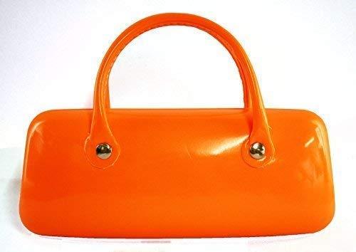 Ofa Products Trendy Orange Fluo Étui à Lunettes avec Anse Double 6 X 2.5inches / 15 X 6cm Env. Génial Cadeau