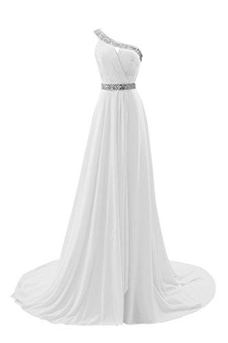 Gorgeous Bride Fashion EinTraeger ALinie Chiffon Schleppe mit ...