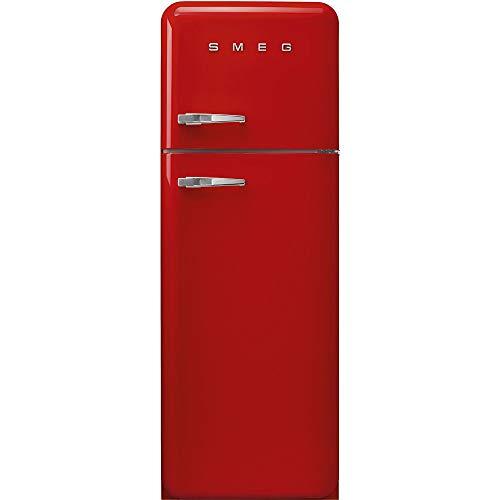 Smeg FAB30RRD3 réfrigérateur-congélateur Autonome Rouge 294 L A+++ - Réfrigérateurs-congélateurs (294 L, SN-T, 4 kg/24h, A+++, Nouvelle zone compartiment, Rouge)