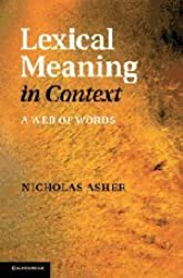 Lexical Meaning in Context: A Web of Words