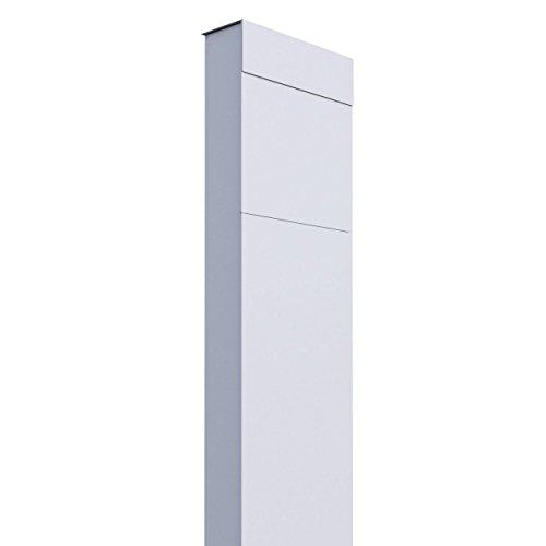 Standbriefkasten, Design Briefkasten The Box Weiß - Bravios