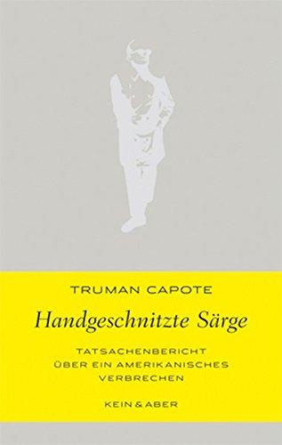 Buchseite und Rezensionen zu 'Handgeschnitzte Särge (Handlich)' von Truman Capote