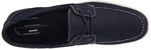 Rockport Mens Bennett Lane 3 Boat Shoe New Dress Blues