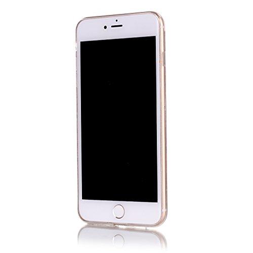 Voguecase® für Apple iPhone 7 Plus 5.5 hülle, Shinning Glitzer Bling Silikon Schutzhülle Hülle Stoßfest Kratzfeste Soft TPU Bumper Case Cover (Rot) + Gratis Universal Eingabestift Blau