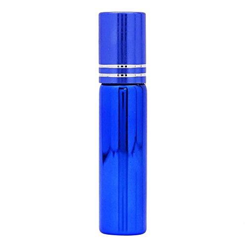 2 Pcs Vide Roll-On De Parfum En Verre Rouleau De Bouteille Sur Les Bouteilles Bouteilles De Gros Rouleaux Avec Une Bouteille De Verre De Couleur 5Ml