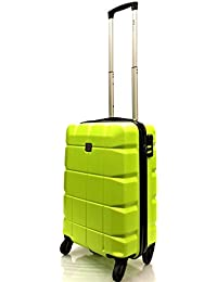 ATX Luggage Super Lightweight Durable ABS Hard Shell Hold Luggage Suitcases Travel Bags Trolley Case Hold Check in with 4 Wheels Built-in 3 Digit Combination Lock