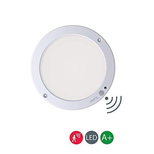 Kaday 18W Downlight LED Plafón con sensor de movimiento Lámpara de pared...