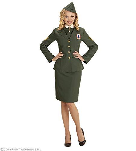 Kostüm Erwachsenen Für Jacke Militärische - Widmann wdm59173-Kostüm Offizielle der Armee, grün, Large