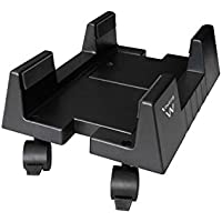 Ewent EW1290 Cart CPU Holder Negro - Soporte (Cart CPU Holder, Escritorio, 8 kg, Negro, ABS sintéticos, Horizontal)