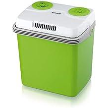 Severin Kühlbox KB 2918 12/230V Heim & Auto, elektrisch, 20 Liter, mit Warmhaltemodus 131011, grün/grau (Generalüberholt)