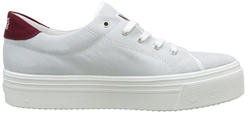 No Box Alma, Baskets  femme Blanc (SUEDE WHITE)