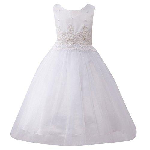 Ärmellos Abschlussball Prinzessin Hochzeitskleider Abendkleider Brautkleider Weiß 100CM