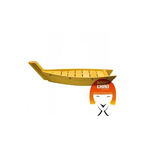Barca in legno per sushi e sashimi