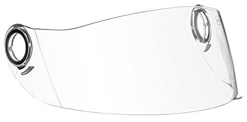 Preisvergleich Produktbild Soxon ST-550 Visier Jethelm Ersatzvisier für Jet Retro Motorradhelm abgedunkelt und Klar,  Farbe:Normal