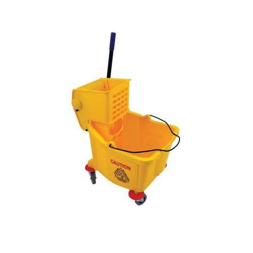 Bentley 103637- Cubo de fregona industrial, 31 l, color amarillo
