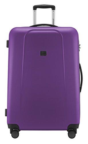 HAUPTSTADTKOFFER - Wedding - Großer Hartschalen-Koffer Koffer Trolley Rollkoffer Reisekoffer Spinner, 4 Rollen, TSA, 75 cm, 103 Liter, violett - 3