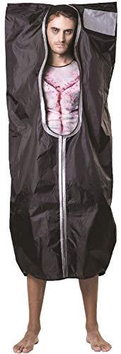Mens Ladies Body Bag Murder Victim TV Book Film Halloween Horror Gruesome Fancy Dress Costume Outfit