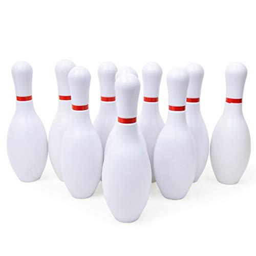 (Wascoo Kinderspielzeug Lernspielzeug Kindertagesgeschenk,Indoor-Spielzeug Bowling-Spiel Spielzeug-Set Yard Spiele Sport Family Fun Spiele für Kinder)