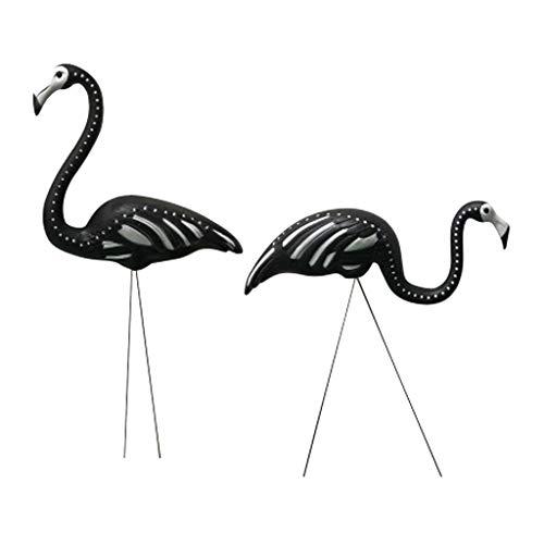 elett Flamingos Rasen Garten Party Dekorationen Ornamente (1 Pack Von 2) ()