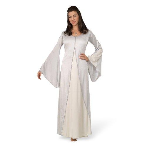 Original Lizenz Arwenkostüm Arwen Herr der Ringe Kostüm Gr. STD Aragorn Undómiel Elrond Celebrían Halbelbe