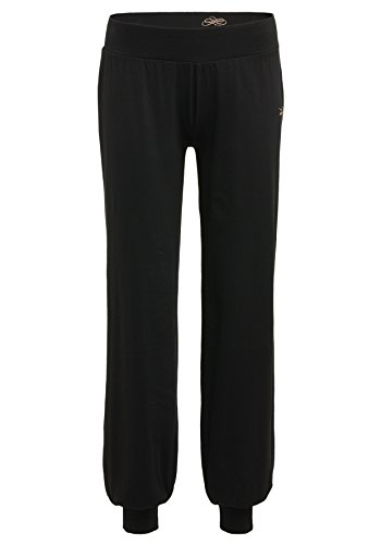 Venice Beach Damen Laru Pants Hose, Black, M (Spaß Training Kleidung Frauen)