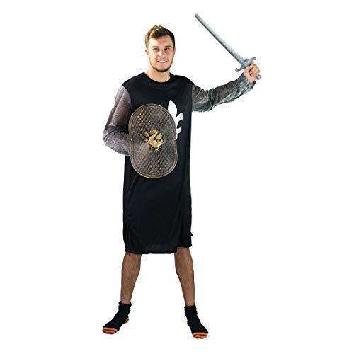 Bodysocks® Ritter Kostüm für Herren (Medium) (Ritter Maskottchen Kostüm)