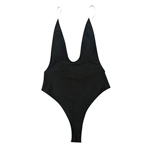 9b01e3ee4f49 ZARLLE Ropa De Baño Bañador de una Pieza Bikini Mujer 2019 Bikini Push Up  Mujer Sin Respaldo Playa Sexy Bikinis Brasileños Mujer con Relleno Traje De  ...