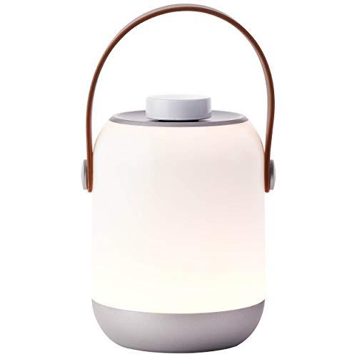 LED Außentischleuchte, 1x 1.58W LED integriert, 1x 120 Lumen, 3000K, Kunststoff, weiß