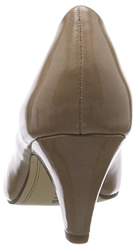 Tamaris - 22416, Pumps da donna Beige (Beige (nude Patent 253))