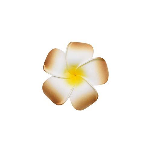 Strawberryran Plumeria 10Pcs 06.05 / 7Cm Artificial Ei Blumen-Party-Schaum-Blumen-Kopfschmuck Für Hochzeit Geburtstag Heim, Burgund, M Cherry Blossom Vase Medium