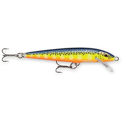 Rapala Original Floater 18 Fishing lure, 7-Inch,