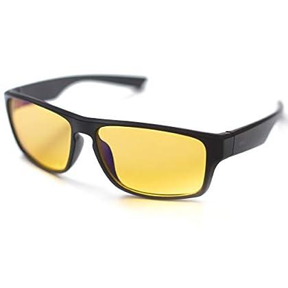 ⭐ [Horus®] - Gafas anti luz azul GAMING   Con e...