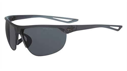 Nike Golf Cross Trainer Sunglasses, Matte Crystal Anthracite/Black Frame, Dark Grey Lens image