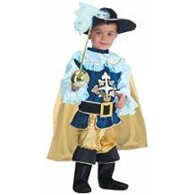 Dress Up America - Mosquetero deluxe, disfraz para niños, 3-4 años (438-T4)
