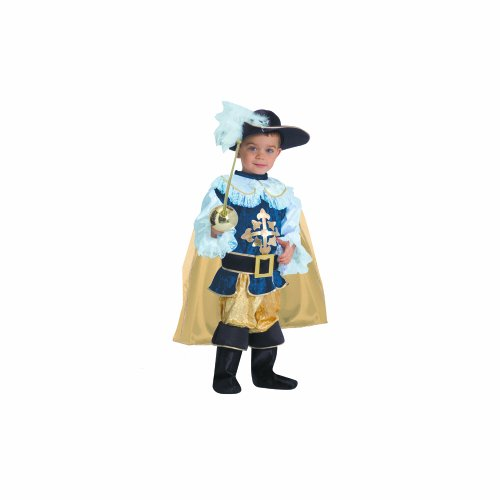 Dress Up America Deluxe Musketier Kinderkostüm ()