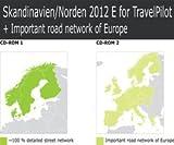 Tele Atlas CD Skandinavien/Norden + MRE 2012 TP E Travel Pilot E1 Travel Pilot E2 E Fr