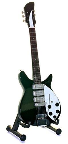 Mini Gitarre Replica-Miniatur Geschenk für Musikliebhaber Beatles-Lennon